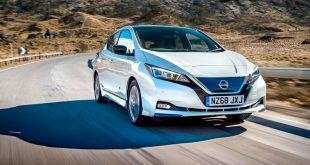 Nissan Leaf ligger godt an til å bli Norges mest populære bil i 2018. Så langt er det solgt 11.584 slike i Norge. (Foto: Nissan)
