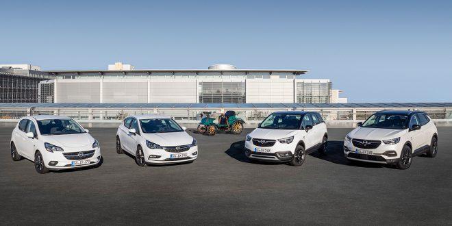 Opel runder 120 år i 2019, og feirer med flere nye biler. (Alle foto: Opel)