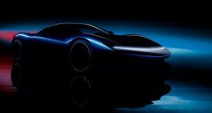 Pininfarina har på gang en lynrask elbil som til og med parkerer formel 1-bilene. (Alle foto: Pininfarina)