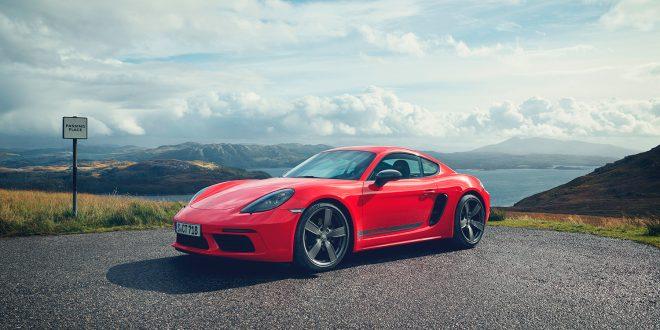 Porsche lanserer ytterligere to modeller av 718, Cayman T og Boxster T. (Alle foto: Porsche)