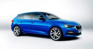 Skoda Scala er en helt ny modell som går til kamp mot populære biler som Volkswagen Golf og Ford Focus. (Alle foto: Skoda)