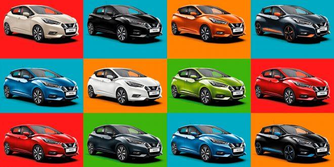 Det finnes et utall farger å velge mellom, så hvorfor ikke gjøre det enkelt å gå for hvitt? (Alle foto: Nissan)