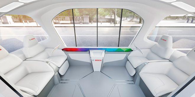 Slik blir framtidens transport. (Alle foto: Bosch)
