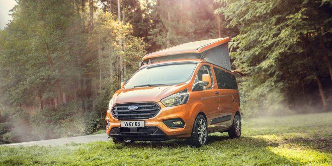 Ford kommer med en campingbil som de har kalt Nugget. (Alle foto: Ford)