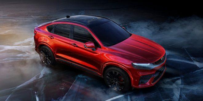 Geely har laget en sportslig SUV på Volvos plattform. (Alle foto: Geely)