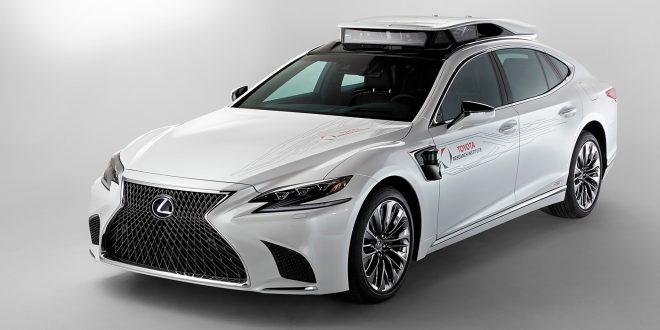 Toyota viser fram den 4. generasjonen av deres selvkjørende plattform. (Alle foto: Toyota)
