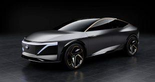 Nissan viser fram en imponerende elbil. (Alle foto: Nissan)