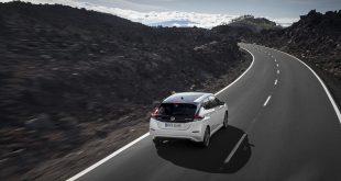 Nissan Leaf bidro sterkt til at Norge bikket 200.000 elbiler i i 2018. (Foto: Nissan)
