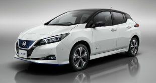 Nissan kommer nå med to nye versjoner av Leaf, 3.Zero og 3.Zero e+ som du kan se bilder av her. (Alle foto: Nissan)