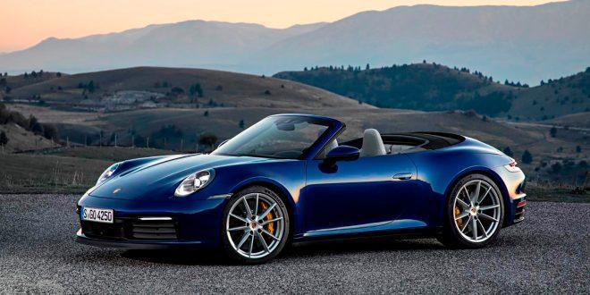 Her er nye 911 i kabrioletutgave. (Alle foto: Porsche)