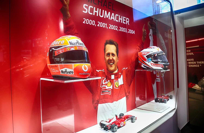 Michael Schumacher var ustopppelig under første halvdel av 2000-tallet. (Foto: Ferrari)
