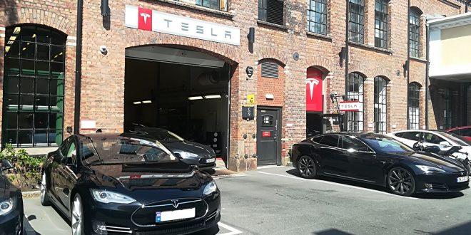Tesla jobber med en funksjon som skal passe på bilen mens den er parkert. (Foto: Bil24)