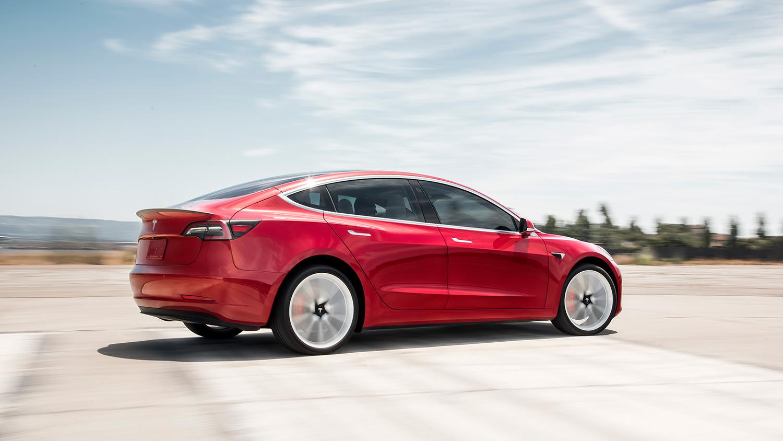 Endelig kommer Tesla Model 3 også til Norge, noe som etter planen skal skje i februar. (Foto: Tesla)