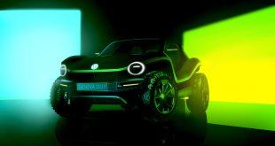 Volkswagen børster nå støvet av buggy, og viser fram en elektrisk variant. (Begge foto: VW)