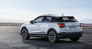 Audi viser oss flere bilder av den nye SQ2. (Alle foto: Audi)