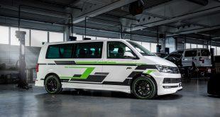 Her er ABT e-Transporter, en helelektrisk varebil. (Alle foto: ABT)