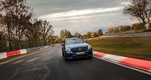 Dette er verdens raskeste serieproduserte SUV, Mercedes-AMG GLC 63 S 4Matic+. (Foto: Mercedes)