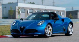 Alfa Romeo overrasker med en spesialutgave av 4C Spider. (Alle foto: Alfa Romeo)