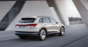 Audi e-tron representerer starten på elbilmodellene fra den tyske produsenten. (Alle foto: Audi)