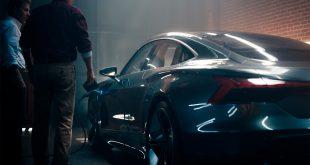 Audi fikk suksess med en ny reklame om den kommende e-tron GT. (Foto: Audi)
