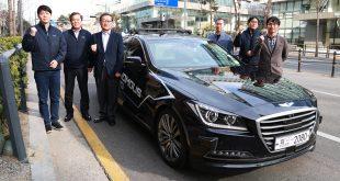 Et sørkoreansk selskap har en selvkjørende bil på nivå 4. (Foto: Mando)