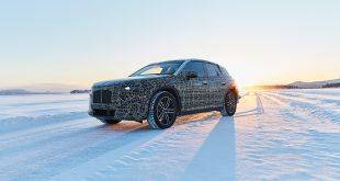 BMW har tatt med seg iNext til kalde Arjeplog. (Alle foto: BMW)