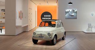 Fiat 500 er nå utstilt på Museum of Modern Art i New York City. (Alle foto: Fiat/MoMA)