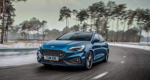 Ford lanserer nå en sportslig utgave av 4. generasjon Focus, nemlig ST-versjonen. (Alle foto: Ford)