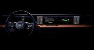 Her er innsiden av den kommende elektriske bybilen til Honda. (Alle foto: Honda)