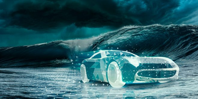 Halvparten av bilforhandlerne kan forsvinne. (Foto: KPMG)