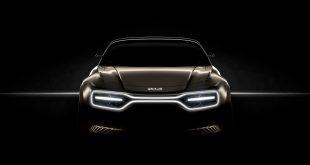 Kia skal vise fram et nytt elbil-konsept under en bilutstilling i neste måned. (Foto: Kia)