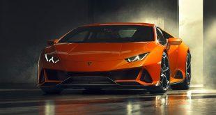 Lamborghini har hentet inspirasjon fra Huracán Performante og laget en modell kalt EVO. (Alle foto: Lamborghini)