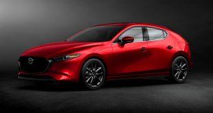 Mazda 3 blir nå ny, noe som inkluderer ny teknologi og en splitter ny motor. (Alle foto: Mazda)