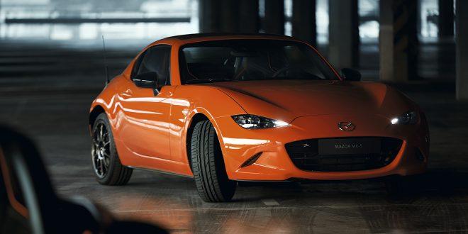 Mazda kommer med en spesialutgave av MX-5. (Alle foto: Mazda)