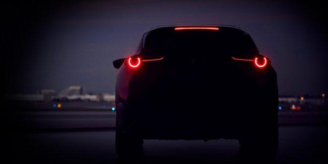 Mazda avduker en ny SUV-modell neste måned. (Alle foto: Mazda)