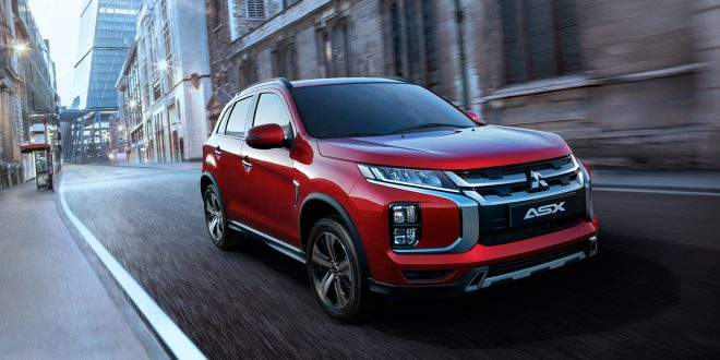 Mitsubishi kommer med en oppgradert versjon av den mer sportslige ASX. (Alle foto: Mitsubishi)