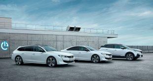 Peugeot kommer med tre nye hybridmodeller. (Begge foto: Peugeot)