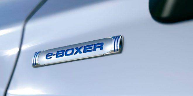 Subaru skal vise europeiske modeller med mildhybrid-teknologien e-Boxer. (Foto: Subaru)
