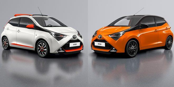 Toyota gir Aygo enda mer X-faktor. (Alle foto: Toyota)