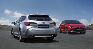 Nye Toyota Corolla hybrid starter på rett under 300.000 kroner. (Alle foto: Toyota)