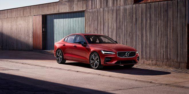 Volvo har to modeller i konkurransen om årets bil. Her S60. (Foto: Volvo)