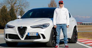 Kimi Räikkönen fikk tidenes velkomstpakke da han troppet opp på jobb for Alfa Romeo. (Alle foto: Alfa Romeo)