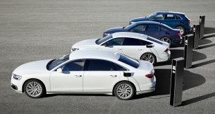 Audi slår til med fire nye ladbare hybrider. (Begge foto: Audi)