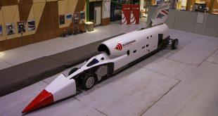 Utviklingen av det som skal bli verdens raskeste på hjul har pågått i snart 12 år. (Alle foto: Bloodhound)