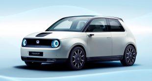 Honda har holdt på med å utvikle en urban elbil i noen år nå, og til sommeren åpnes det endelig for salg. (Alle foto: Honda)
