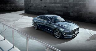 Nye Hyundai Sonata blir den første modellen som er bygd på en helt ny plattform. (Alle foto: Hyundai)