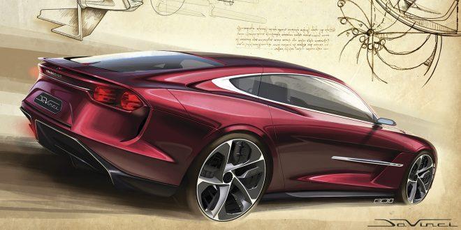 Dette er en bil som selv Leonardo Da Vinci kunne vært stolt av. (Alle foto: Italdesign)