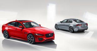 Nye Jaguar XE låner utstyr og løsninger fra tre andre modeller. (Alle foto: Jaguar)
