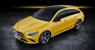 Mercedes viser fram en fersk versjon av CLA Shooting Brake. (Alle foto: Mercedes)