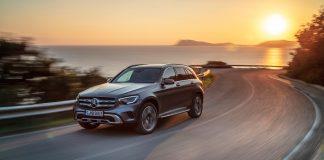 Mercedes oppdaterer SUV-favoritten GLC. (Alle foto: Mercedes)